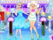 Barbie Ve Elsa Moda Show