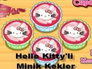 Hello Kitty'li  Minik Kekler