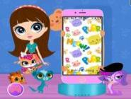 Littlest Pet Shop Telefon Dekorum