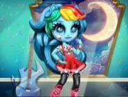 Rainbow Dash K-pop Stili