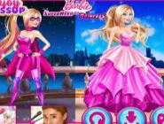 Süper Barbie Ve Prenses Barbie
